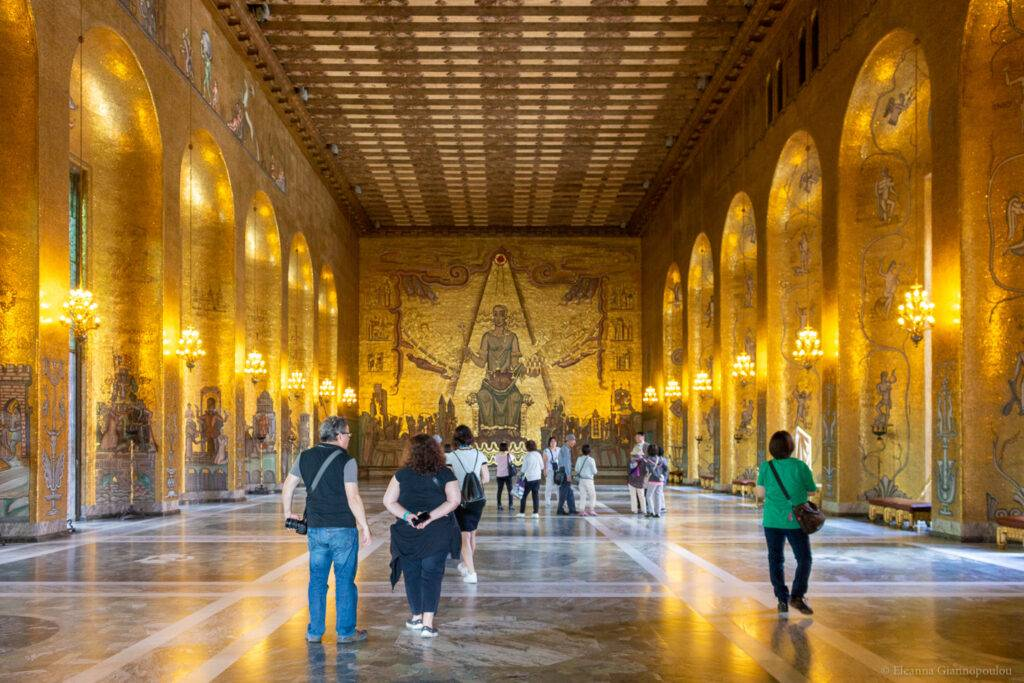 Δημαρχείο Στοκχόλμης, η Χρυσή Αίθουσα
