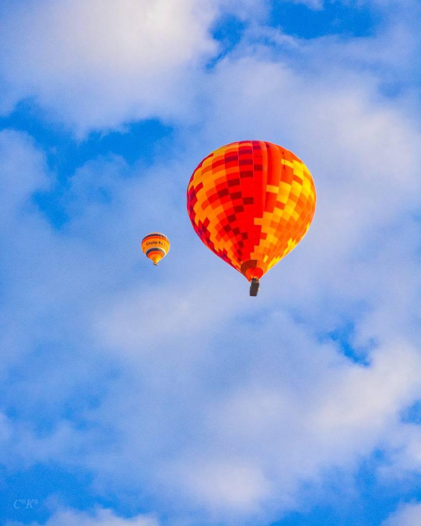 αερόστατο στην Καππαδοκία