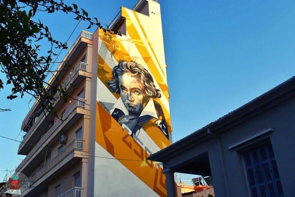 Street Art Festival Patras Γεωργίου Ολυμπίου
