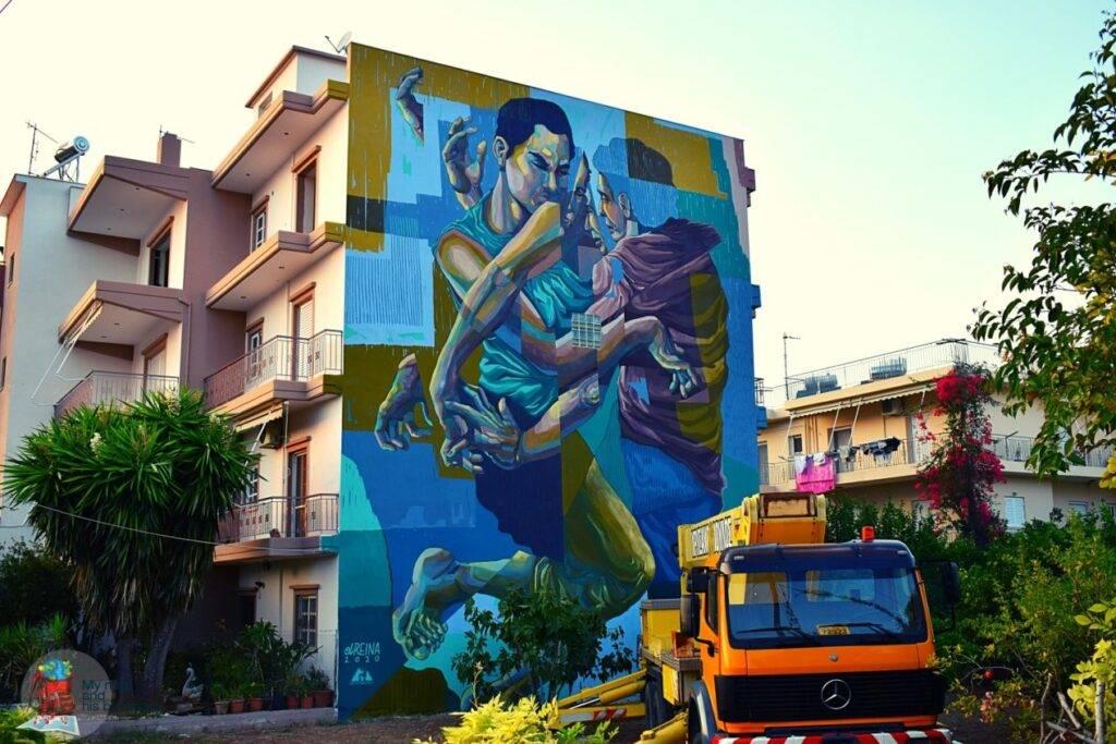 Street Art Festival Patras Ελευθερίου Βενιζέλου