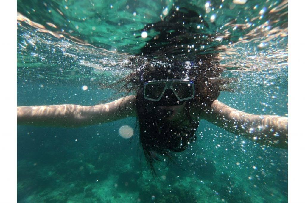 snorkeling sta phi phi island