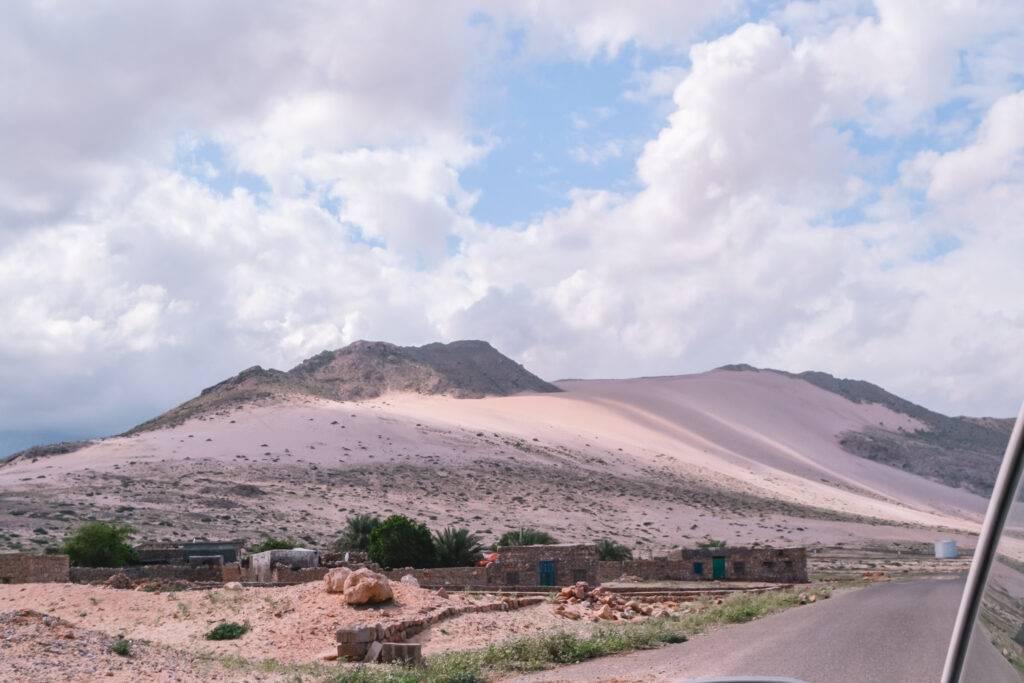 Σοκότρα της Υεμένης διαδρομές